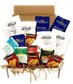 Coffee Gift Box Set, Shortbread Cookies, Hot Cocoa & Tea