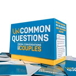 Uncommon Questions 200 Fresh Conversations Starters for Couples Daily Tool to Reconnect with You ...