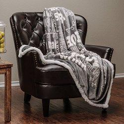 Chanasya Hope and Faith Prayer Inspirational Message Gift Throw Blanket – Posivite Energy  ...