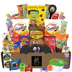 Halloween Care Package 35 Count Assortment – Great For College, Kid, Adult, Student, Teens ...