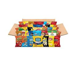 Ultimate Snacks Care Package, Classic Variety Assortment of Chips, Cookies, Crackers, & Nuts ...