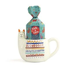 "Thoughtfully Gifts, The Llama Mug ""Lots of Love"" Stress-Reducing Gift Set, Includes  ..."