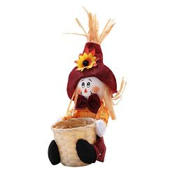 Fine Halloween Trick Candy Basket,Doll Fruit Decoration Bowl Halloween Ghost Candy Basket Home D ...