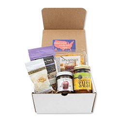 Virginia Gift Box – Favorite Foods from VA – Gourmet Variety Pack Includes Peanuts,  ...