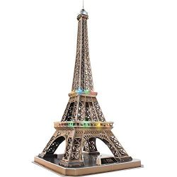CubicFun 3D Puzzles French Architecture Building Model Kits as Paris Souvenirs Gifts for Adults  ...