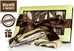The Biscotti Factory Marble Biscotti Gift Box, Individually Wrapped Biscottis, Hand Crafted, Gou ...