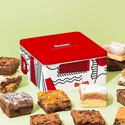 David'S Cookies Assorted Brownies & Crumb Cake Tin – Delicious, Fresh Baked Brow ...