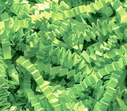 1/2 LB Crinkle Cut Paper Shred – Lime