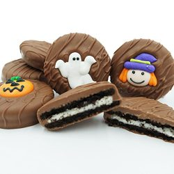 Philadelphia Candies Milk Chocolate Covered OREO Cookies, Halloween Assortment (Cute Witch, Ghos ...