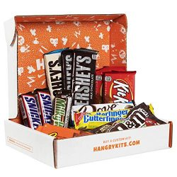 Hangry Kit Chocolate Kit, Care Package or Gift Pack Including 14 of the Most Popular Chocolate Bars