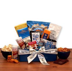 Fathers Day Gift Basket My Dad Is The Best Gourmet Gift Box Gift For Dad