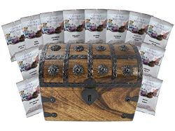 Coffee Treasure Chest Sampler 12 Around the World Coffee Masters Variety Pack Gift Set by Well P ...