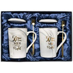50th anniversary gifts for couple, 50th Wedding Anniversary Gifts, Golden Anniversary Gifts for  ...