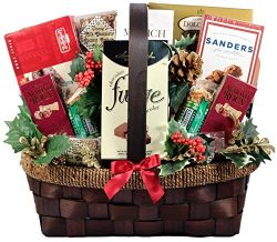 The Grandest Of Them All, Deluxe Gift Basket With Decadent Chocolates, Gourmet Sausage, Mixed Nu ...