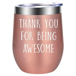 Thank You for Being Awesome – Thank You Gifts for Women – Coworker, Boss, Employee A ...