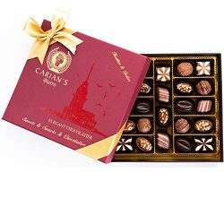 Bistro Chocolate Boxed Luxury Selection, Premium Assorted Gift Box, Gourmet Truffles,Natural and ...
