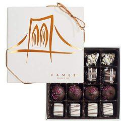Kosher Chocolate Candy Gift Assortment – Great Dark Chocolate Assortment For Hanukkah, 16  ...
