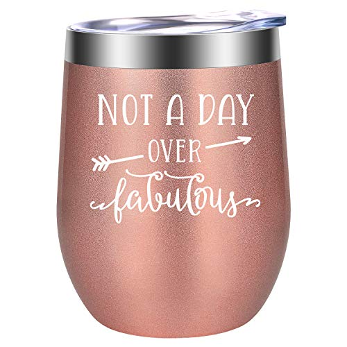 Not a Day Over Fabulous – Fun Birthday Gifts for Women – Funny Birthday, Christmas W ...