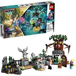 LEGO Hidden Side Graveyard Mystery 70420 Building Kit, App Toy for 7+ Year Old Boys and Girls, I ...