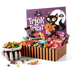 GourmetGiftBaskets.com Halloween Candy Trick or Treat Gift Box – Halloween Gifts for Kids  ...