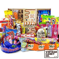 VINTAGE CANDY CO. 1970s RETRO CANDY GIFT BOX – 70s Nostalgia Candies – Flashback SEV ...