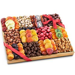 Golden State Fruit Sweet Extravagance Ultimate Dried Fruit and Snacks Party Tray