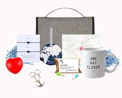 LONG DISTANCE RELATIONSHIP GIFTS | THINKING OF YOU | COUPLES ROMANTIC ACROSS THE MILES GIFT SET  ...