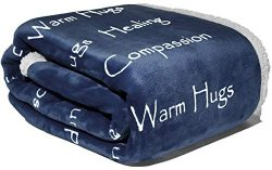 WOLF CREEK BLANKET – Compassion Blanket – Strength Courage & Super Soft Warm Hug ...