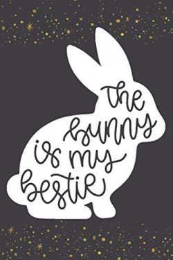 The Bunny In My Bestie: Funny Bunny Lined Notebook Journal: Awesome Gift for Easter or Rabbit Lovers