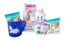 Unicorn Christmas Gift Set – Hot Chocolate, Marshmallow, Mug, Plush and Candy – Best ...