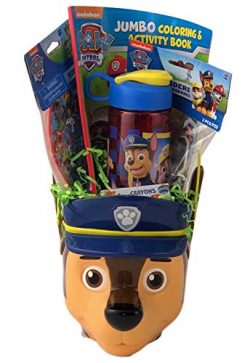 KKC Paw Chase Premade Gift Basket for Young Boys Happy Birthday Pre Filled