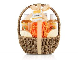 Bath Spa Gift Basket, Bath & Body Gift Set for Women & Men, Includes Shower Gel, Bubble  ...