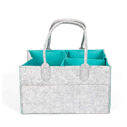 Baby Diaper Caddy Organizer Portable Large Diaper Caddy Tote Car Travel Bag Nursery Diaper Caddy ...