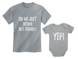 Big Brother/Sister Little Brother/Sister Set Gift for Siblings Baby & Toddler Child Gray 3T  ...