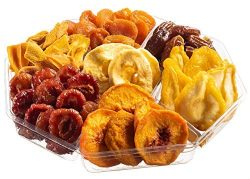 Holiday Dried Fruit Gift Tray, Birthday, Christmas – New Year, Family Parties & Movie  ...