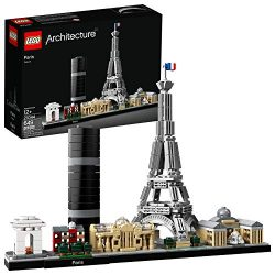 LEGO Architecture Skyline Collection 21044 Paris Skyline Building Kit With Eiffel Tower Model an ...