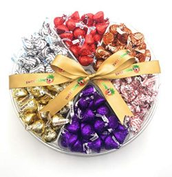 Hershey's Kisses Gift Baskets, Kisses Almond, Kisses Hugs, Kisses Dark, Kisses Candy Cane, ...