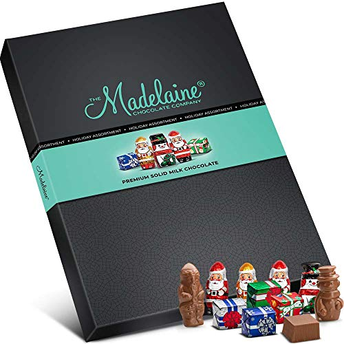 Madelaine Chocolate Gift Box – Whimsical Christmas Holiday-themed Gourmet Gift Basket R ...