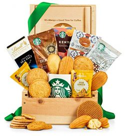 GiftTree Starbucks Coffee Lover's Crate | Custom Engraving Included | Enjoy Ground and Who ...