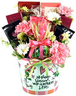 A Mothers Heart Gift Basket for Mom