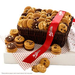 Mrs. Fields Cookies Nibblers Bite-Sized Cookies Basket, (72 Count)