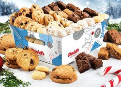 David'S Cookies 6 LB. Assorted Cookies & Treats In Seasons Greetings Gift Basket