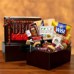 The Barbecue Gift Basket – Great Gift for Fathers Day, Birthday, Holidays or Any Occasion