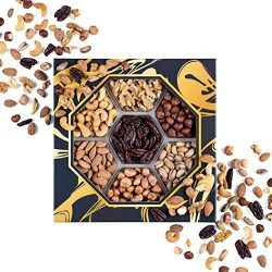 Assorted Mix Nuts Platter, Perfect Nuts Gift Baskets for Christmas, Gourmet Nuts Feast Ideas, Id ...