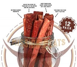 Keto Sugar Free Sampler Pack Grass Fed Beef Sticks & Bars Healthy Free Range Turkey Sticks G ...