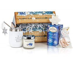 Winter Wonderland Care Package for Women: She'll Adore This Christmas Gift Basket, Holiday ...