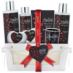 Spa Gift Basket for Women & Girls, Best Gift Idea for Christmas, Valentines & Mothers Da ...