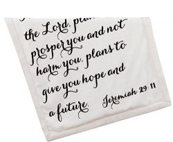 Scripture Throw Blanket for Baby or Children | Jeremiah 29:11 | Best Boy or Girl Shower or Birth ...