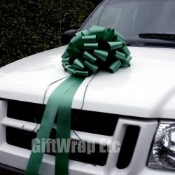 Large Car Bow, 16″ Wide – Hunter Green, Christmas, Gift Bow, Birthday, Anniversary,  ...