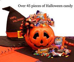 Tricks or Treats Halloween Gift Basket by GiftBasketsAssociates